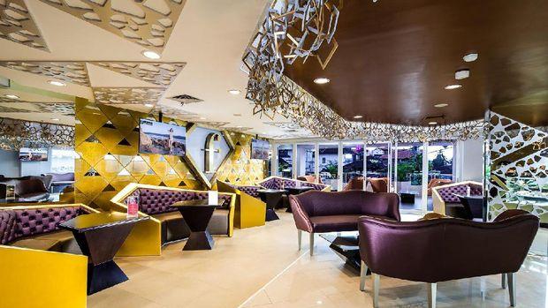 Suasana Fashion Cafe (dok Fashion Hotel)