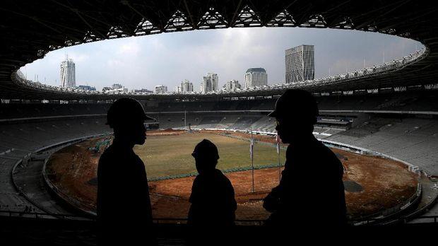 Stadion Utama GBK direncanakan bakal jadi venue pembuka dan penutup Asian Games 2018/