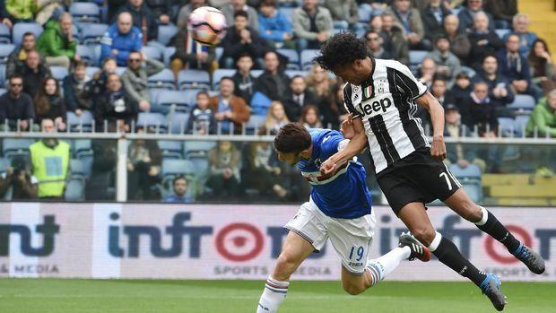 Juventus Atasi Sampdoria 1-0