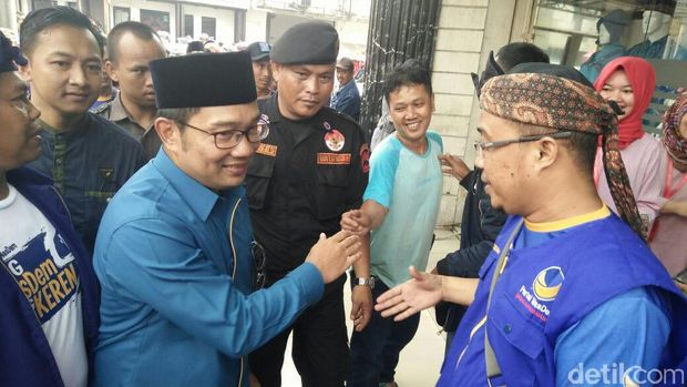 Didukung Nasdem, Ridwan Kamil: Kenapa Partai Lain Banyak Pikiran