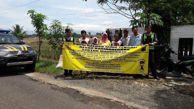 Polisi di Banjarnegara Imbau Warga Tak Asal Serang Orang Gila