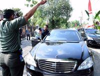 Mobil Jokowi yang mogok