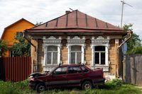 Rumah arsitektur Rusia yg makin terabaikan (Maxim Shemetov/Reuters)