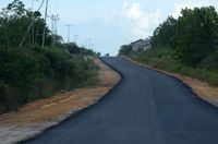 Jalan Akses Menuju PLBN Badau
