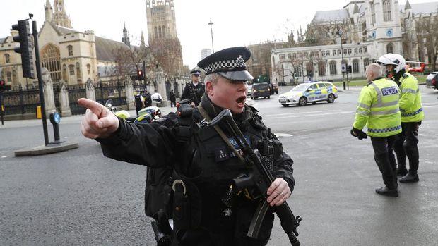 Detik-detik Mencekam Teror di Jantung Kota London