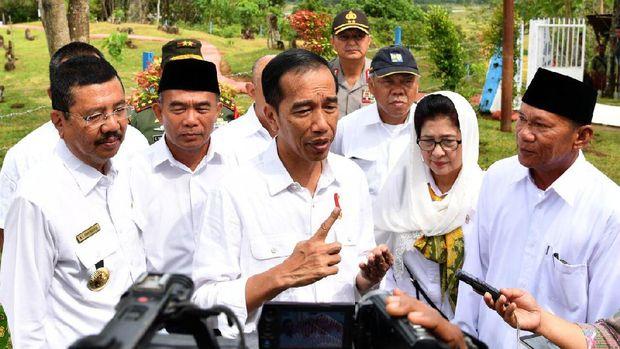 Jokowi: Makam Mahligai Barus Bukti Hubungan Bersejarah RI-Timteng