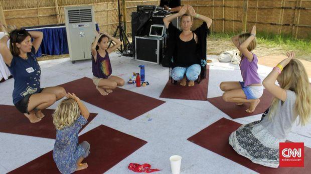 Kreatif, Yoga Khusus Untuk Anak-anak