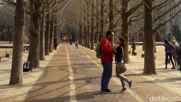 Bisa foto romantis ala ala dengan pasangan (Kurnia/detikTravel)