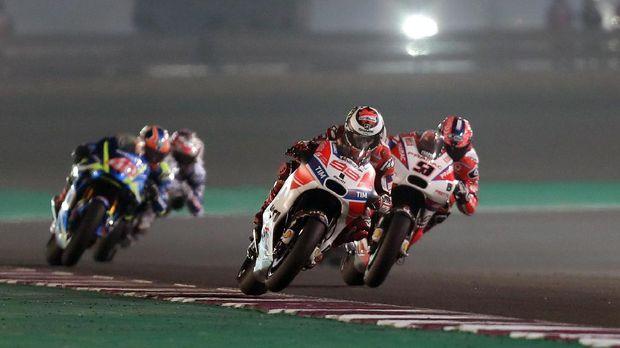 Ducati meraih banyak sukses hingga paruh musim MotoGP 2017.