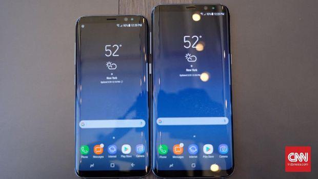 Membedah Spesifikasi Dan Fitur Duo Samsung Galaxy S8 – CNN Indonesia