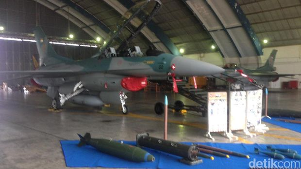 Pesawat Golden Eagle T 50i di Skadron Udara 15 Lanud Iswahyudi