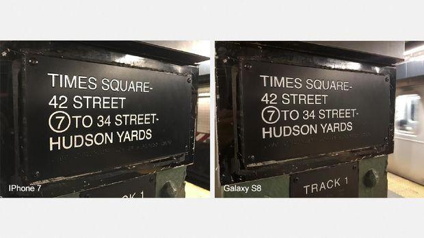 Membandingkan Hasil Kamera Galaxy S8 dan iPhone 7