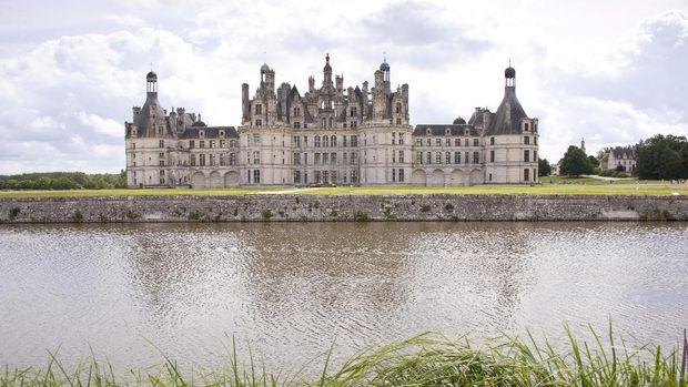 Chateau de Chambord di Prancis (Thinkstock)