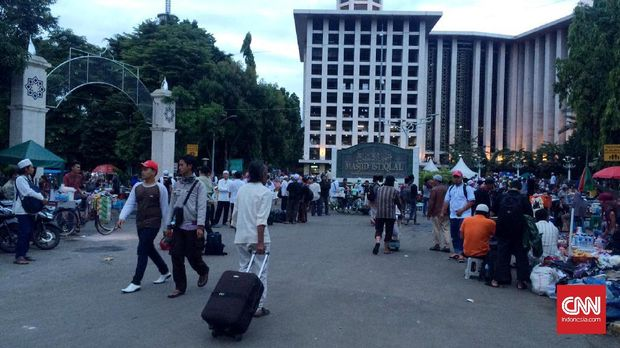 Istiqlal: Massa 313 Tak Sampai Setengah Yang Diperkirakan