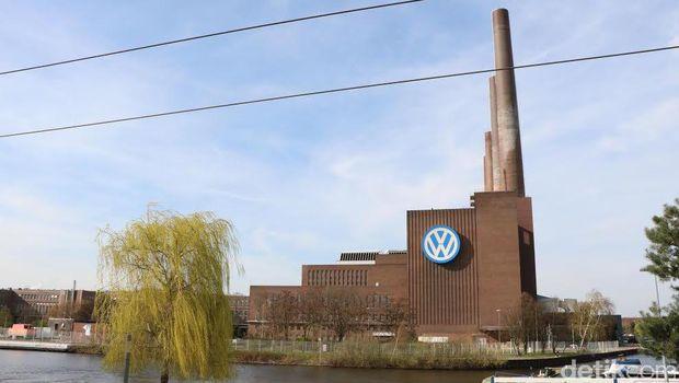 Peninggalan Perang Dunia II di Pabrik Mobil di Jerman