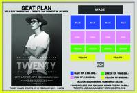 Pembagian kursi dalam acara jumpa fan So Ji Sub di Jakarta.