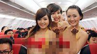 Heboh VietJet Air, Rute Mana Saja yang Pramugarinya Pakai Bikini?