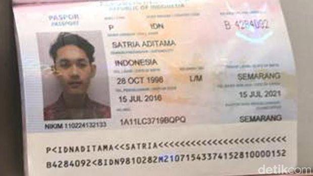 Ini Paspor Pelaku Penembakan Polisi di Tuban