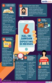 6 Hal Jangan Diposting di Medsos