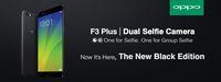 Oppo Mulai Pasarkan F3 Plus Edisi Hitam