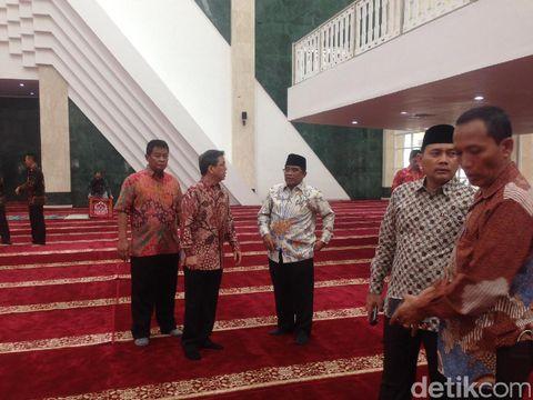 Sumarsono Hadiri Peresmian Masjid KH Hasyim Asy'ari