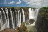 Pemandangan air terjun yang spektakuler (Thinkstock)