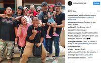 Instagram Jadi Ajang Seleb Pamer Jari Ungu