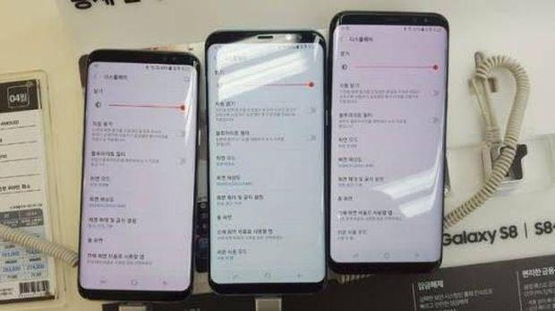 Pengguna Galaxy S8 Keluhkan Layar Merah