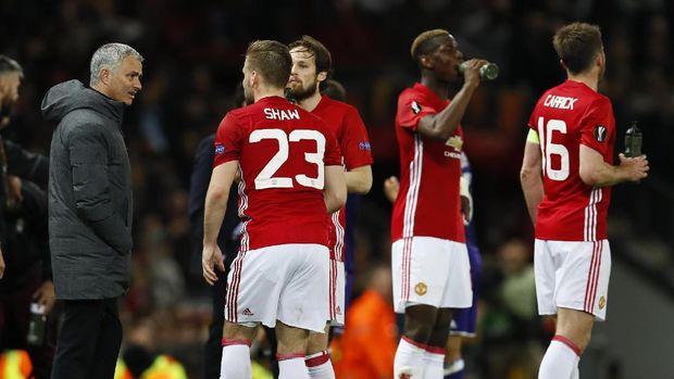 Semangat dan Daya Juang Shaw Kini Sukses Bikin Mourinho Terkesan
