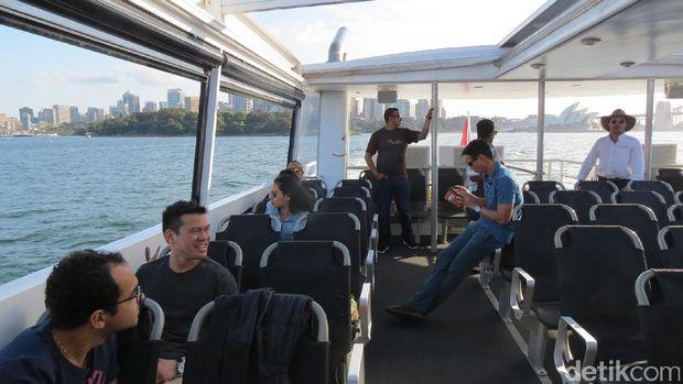 Para wisatawan menikmati suasana (Fitraya/detikTravel)