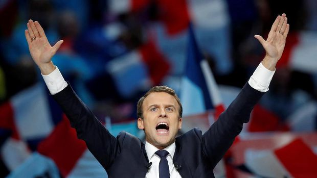 Macron berpeluang besar menjadi presiden termuda Perancis dalam sejarah.