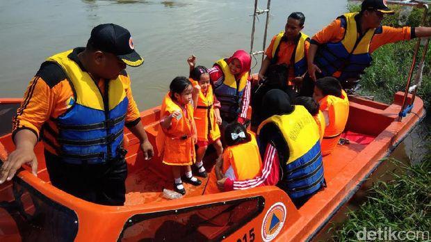 Puluhan Anak dan Penyandang Disabilitas Ikut Pelatihan Kebencanaan