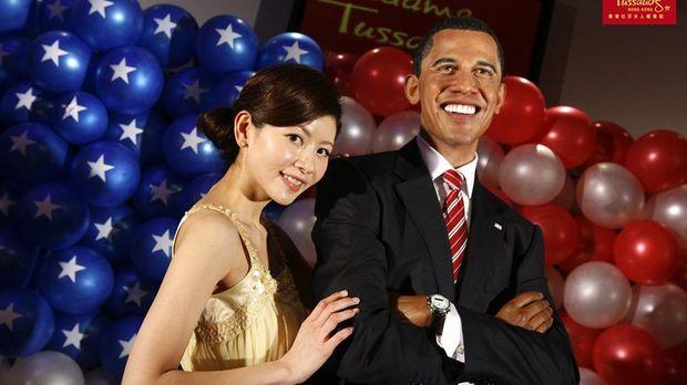 Patung lilin Barack Obama (Madame Tussauds)