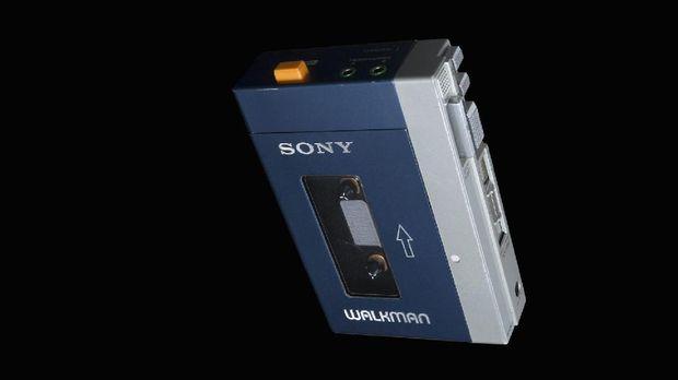 Walkman yang digunakan karakter Chris Pratt, Peter Quill, di 'Guardians of the Galaxy'.