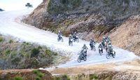Konvoi Motor Trail Jokowi dan Panglima di Jalanan Terjal Wamena