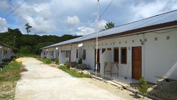 Rumah di Perbatasan RI-PNG