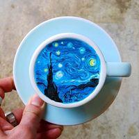 Wah, Cantiknya Lukisan <i>Latte</i> yang Dibuat Barista Korea Ini!