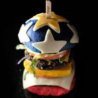 Pencinta Burger Wajib Mencicipi Burger Wonder Woman Ini!