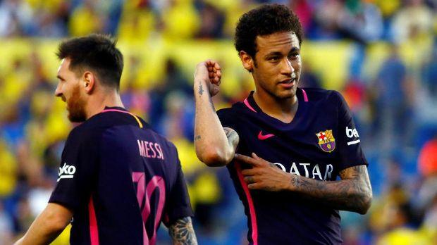Neymar sedang diincar PSG untuk menjadi ikon baru klub.