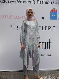 Foto: Koleksi Baju Hijab Terbaru Ria Miranda untuk Mudik dan Lebaran