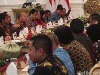 Pertemuan Jokowi dengan para Pemred