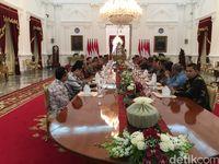 Pertemuan Jokowi dengan Pemred Media Massa