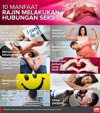 Sepuluh Manfaat Rajin Melakukan Hubungan Seks