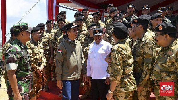 Sebanyak 23 Gubernur Lulus Latihan Ala Militer di Natuna