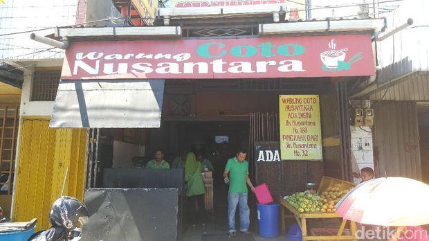 Lokasinya di Jl Nusantara no 168, Makassar (Faya/detikTravel)