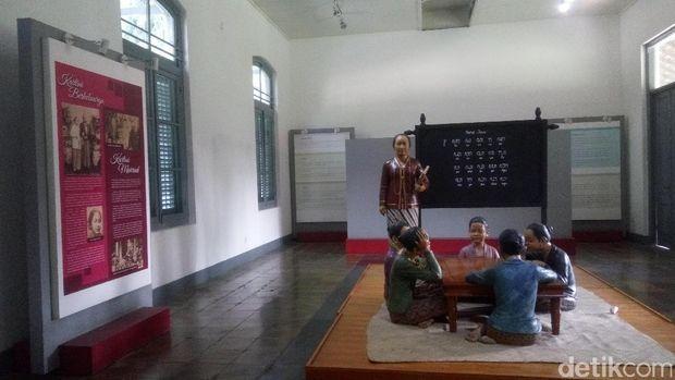 Ruang peraga sekolah Kartini (Syanti/detikTravel)