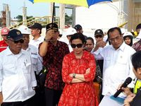 Rasa Penasaran Sri Mulyani Saat Blusukan ke Tol Trans Sumatera