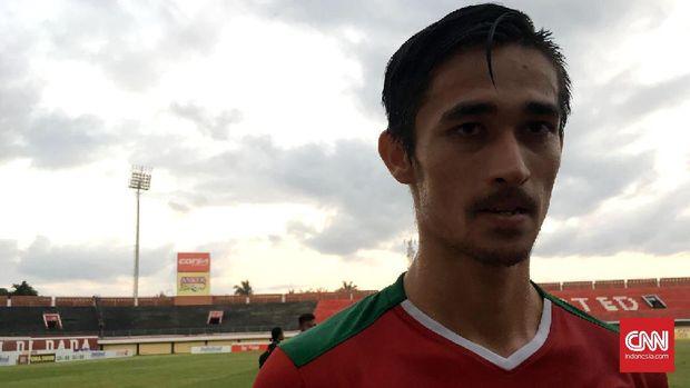 Gavin Kwan Adsit mencetak dua gol ke gawang Mongolia.