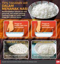 Tips Bagaimana Menanak Nasi Hingga Pulen