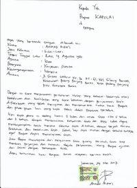 ARP Minta Maaf ke Kapolri karena Sebut Bom Kampung Melayu Rekayasa